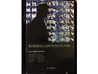 Business Law In Scotland, 2nd edition, W. Green