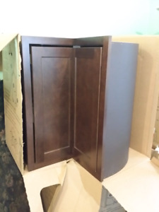 NIB easy reach corner kitchen cabinets w lazy susan fits 31-36""