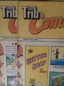 Collectible Winnipeg Tribune Comics 1977-1980 $50.00 Takes All