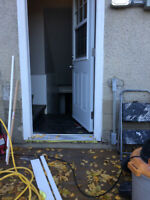 Skillful entire exterior door installation service, prompt after