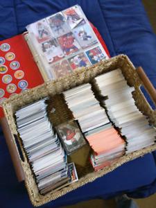 Hockey, Baseball, Basketball and Football cards
