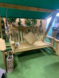Pine farmers swing seat