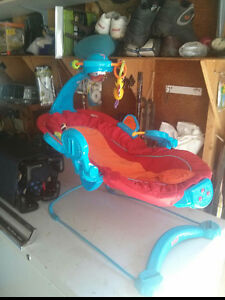 Musical Infant lounger that vibrates Strathcona County Edmonton Area image 2