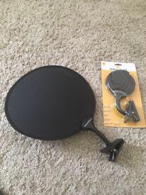 Pop-open Sun visor for Buggy x 2