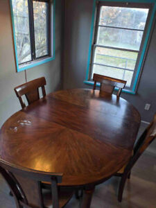 Table and Chair set for sale.