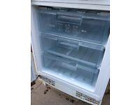 Bosch Under counter integrated freezer.