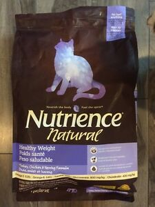 Nutrience Natural healthy weight cat food