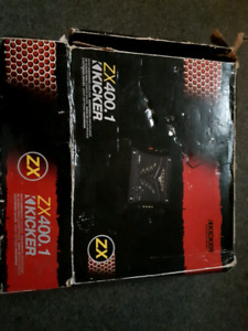 Kicker ZX 400.1 Amp