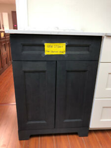 "Powder room 24"" vanities on floor SALE!!!"