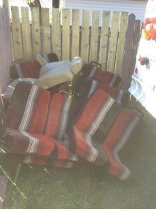 Bus seats and assorted bmw parts