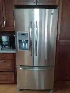 Maytag french door refrigerator - stainless steel -