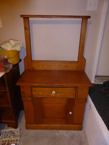 Antique Pine Washstand - REDUCED!!!