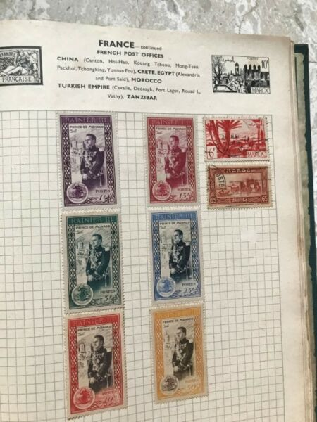 Stamps of my collections over 65 years