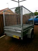 box trailer high caged Ettalong Beach Gosford Area Preview