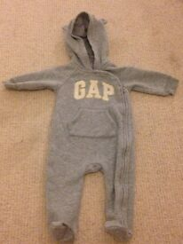 Brand new baby gap all in one coat 6-9 months