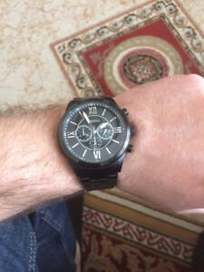 Fossil Chronograph Watch with extra links