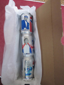 PEPSI MUSIC CAN COMPLETE SET - BOXED FOR  CHRISTMAS GIVING