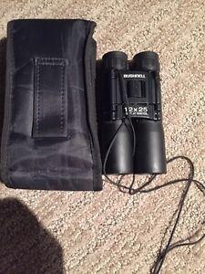 Bushnell 12x25 binoculars
