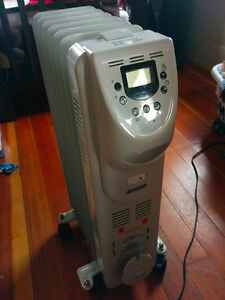 Garrison Digital Oil Heater with LCD Display $50