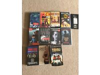 15 VHS or videos