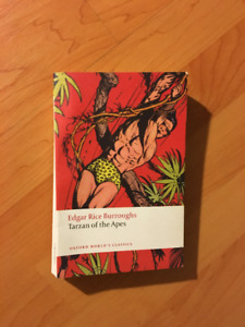 Book: Tarzan of the Apes
