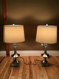 Table Lamps With White Shade