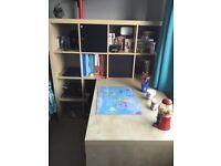 IKEA desk and shelving unit