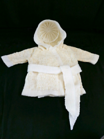 Babies hooded dressing gown