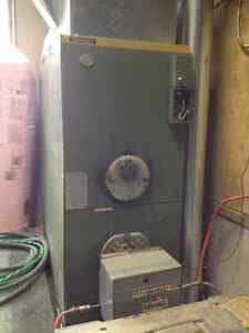 Forced Air Furnace & Sml Oil Tank for Camp or Shop - $250.00 OBO