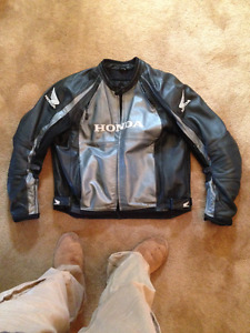 Honda leather jacket