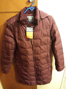 Brand new 'Wind River' 600 down jacket with price tag