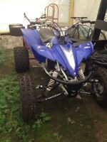 2005 Yamaha YFZ450 **many new parts**try your trade**