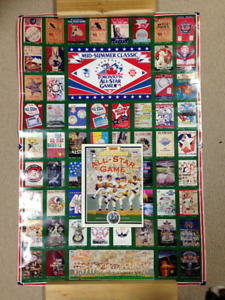 1991 MLB All-Star Game Official Program and Poster