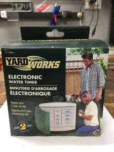 BNIB - YardWorks Electronic Water Timer