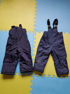 Toddler boy size 2 to 2t snow pants