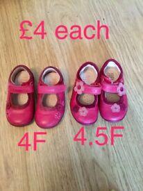 Clarks infant shoes