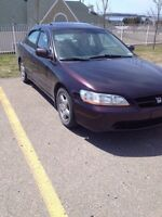 1999 accord trade for truck