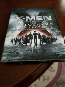 Xmen and the wolverine Blu-ray collection