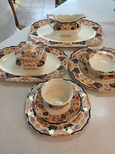 Moytt & Son 65 Piece Derby Tone Bone China