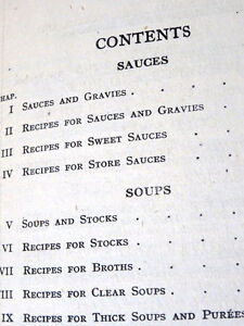 CALF'S HEAD ANYONE 1918ish Mrs BEETON'S sauces soups 1st EDITION Cambridge Kitchener Area image 9
