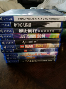 Games for sale ps4