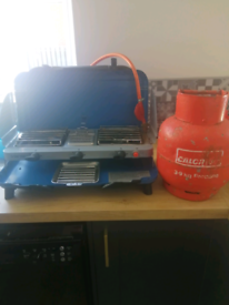 Campinggaz stove and 3.9 gas bottle