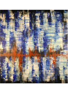 Abstract painting Art Voices From Beyond