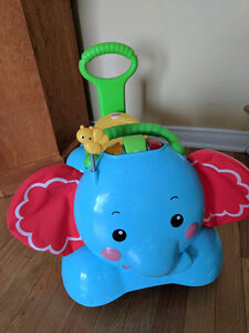 3 in 1 Bounce & Ride Fisher Price Elephant