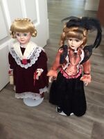 Two Collectible Dolls