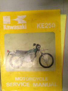 1976 1977 Kawasaki KE250 Service Manual