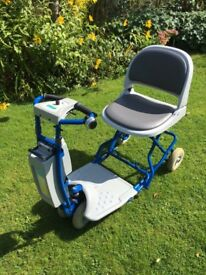 Mobility Scooter Aqua Soothe Travel Lite.