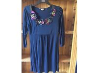 Boden embellished tunic dress, Size 10