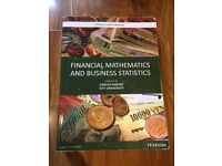 Financial mathematics and business statics