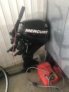 Moteur Hors Bord Mercury 9.9 Forces Quatre Temps